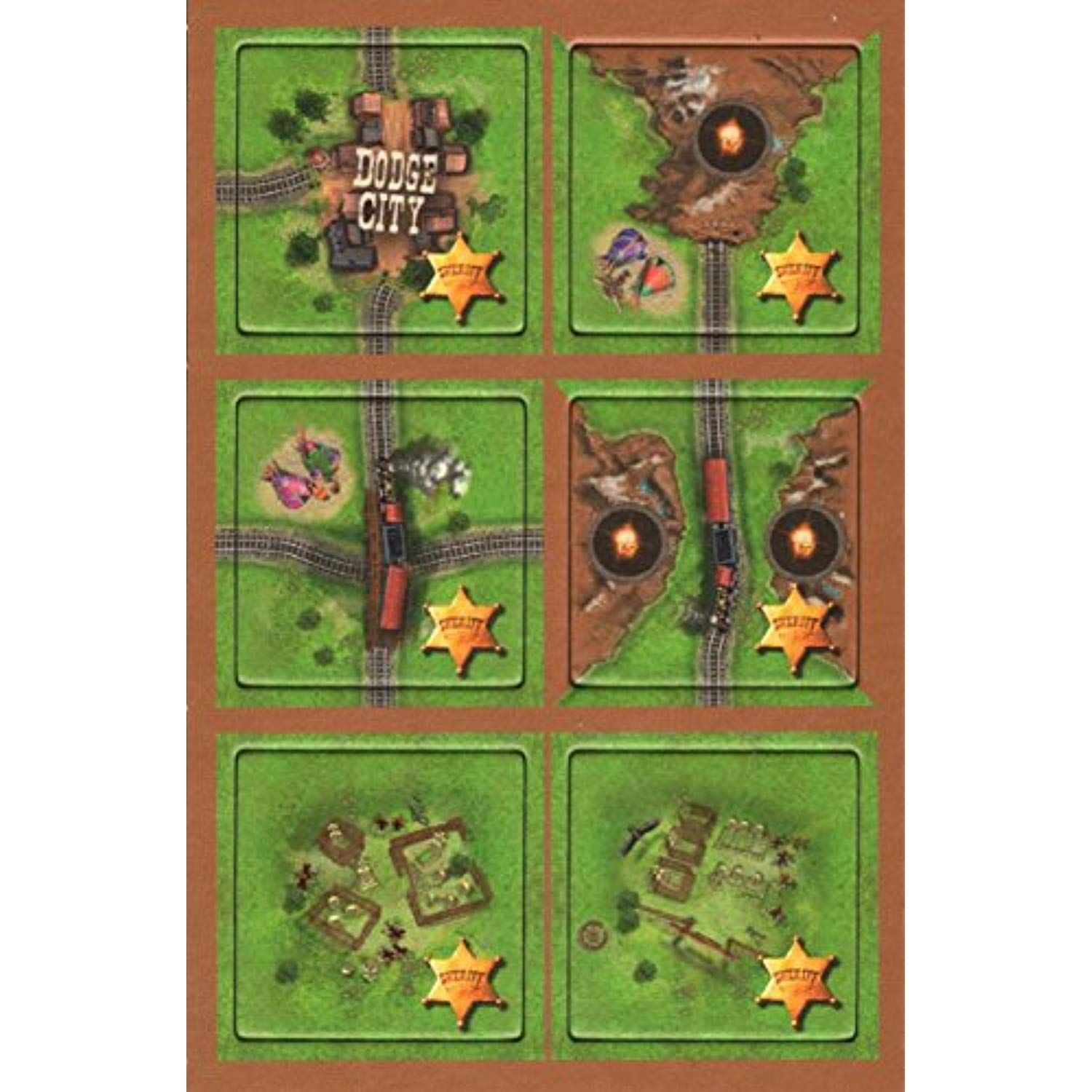 Carcassonne Gold Rush The Sheriff Goldrausch Der Sherrif Mini Expansion Click Image For More Details This Is An Affili The Expanse Carcassonne Sherrif