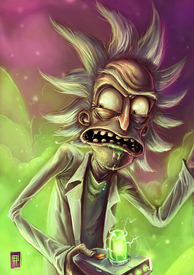 Reddit Rickandmorty A Friend Put This Together On His Live Stream Today Rick And Morty Drawing Rick Sanchez Rick And Morty Poster