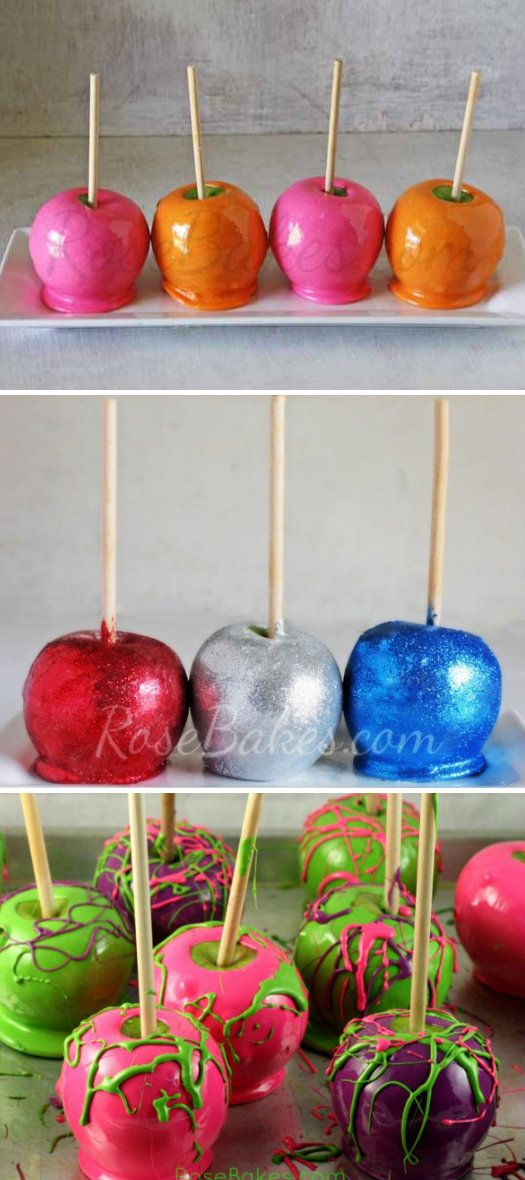 Any Color Candy Apple   Gourmet apples