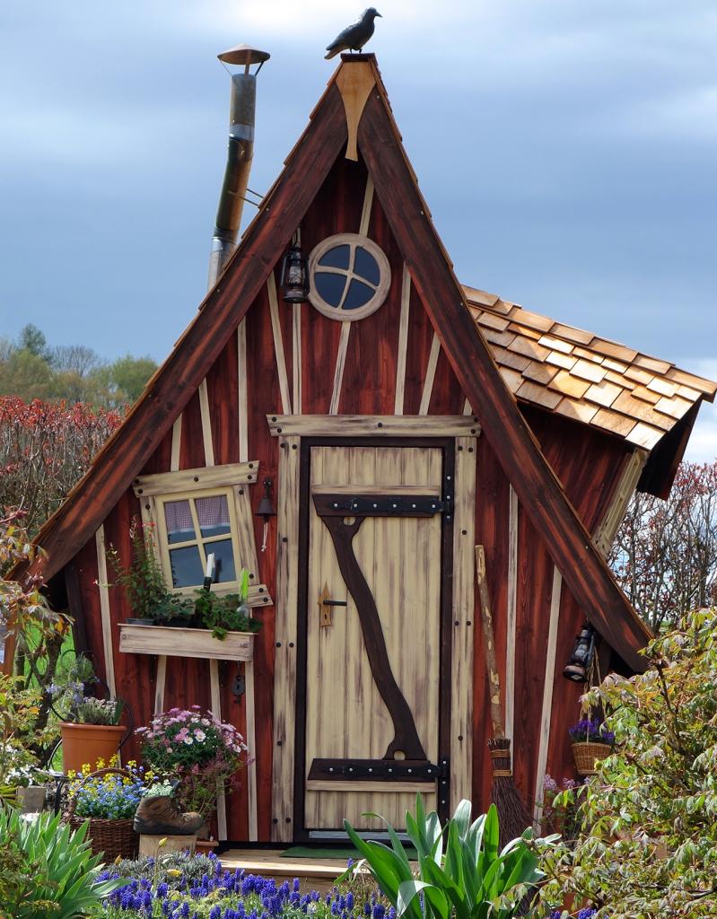 Unsere Farben Märchenhaus, Haus und garten