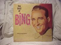 "BING CROSBY ""THE BEST OF BING"" VINTAGE DECCA DOUBLE LP"