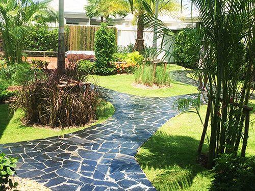Tropical Landscaped Garden, for Hua Hin Couple   Garden ...