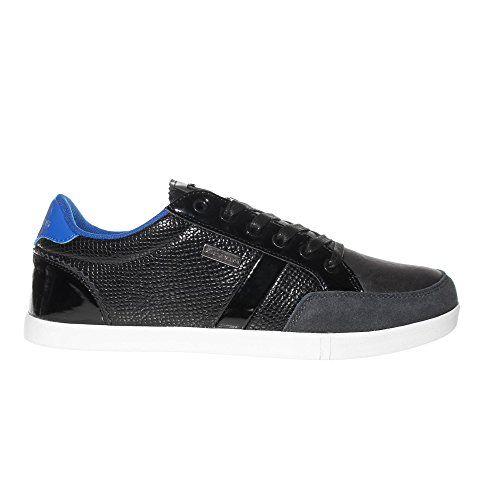 VOI JEANS Turino Tier Herrenmode Trainer-Schuh - schwarz / blau - http://on-line-kaufen.de/voi-jeans/voi-jeans-turino-tier-herrenmode-trainer-schuh