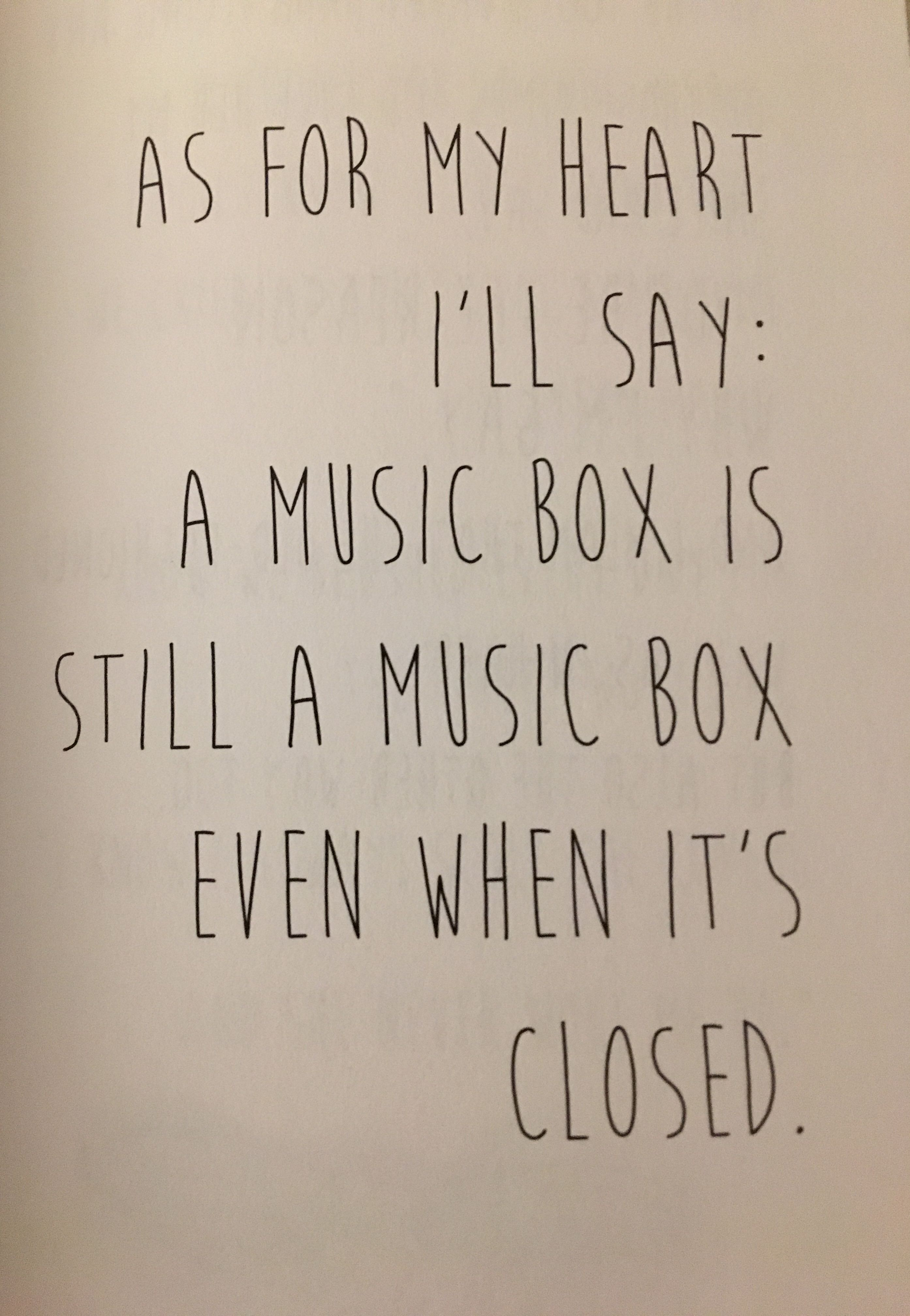 Music Box Quotes
