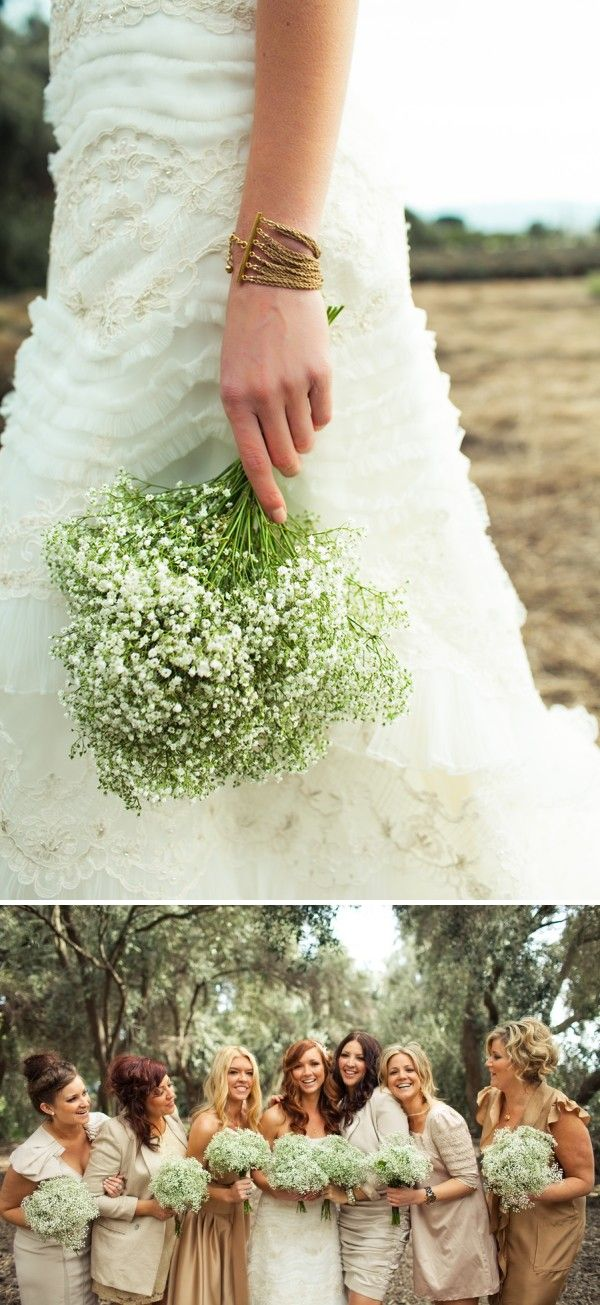 lavender baby's breath wedding - Google Search