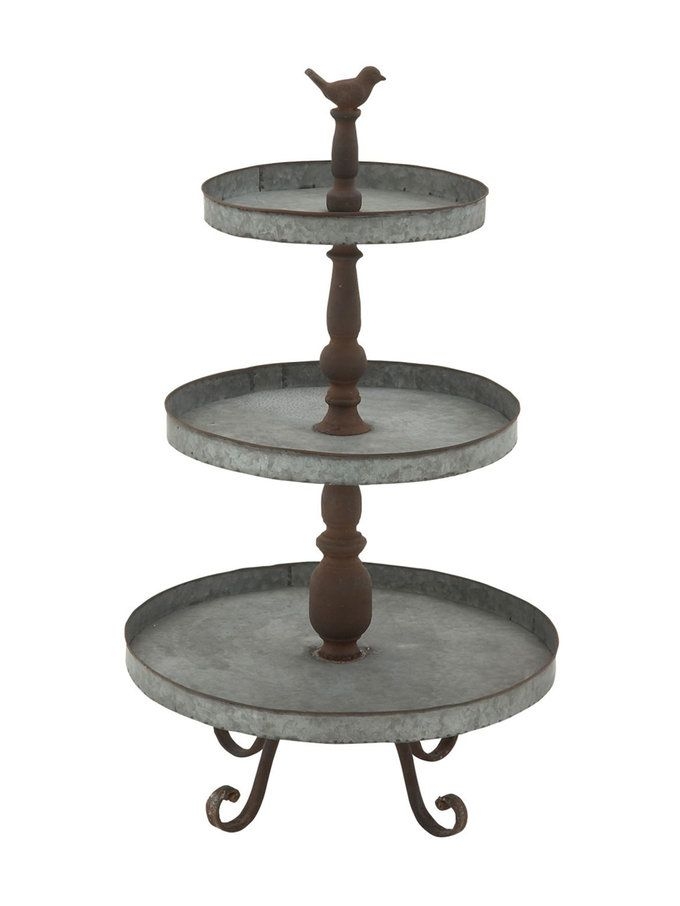 Cambridge Satin Nickel 3 Tier Stand Reviews Crate And Barrel Tiered Stand Buffet Stand 3 Tier Stand