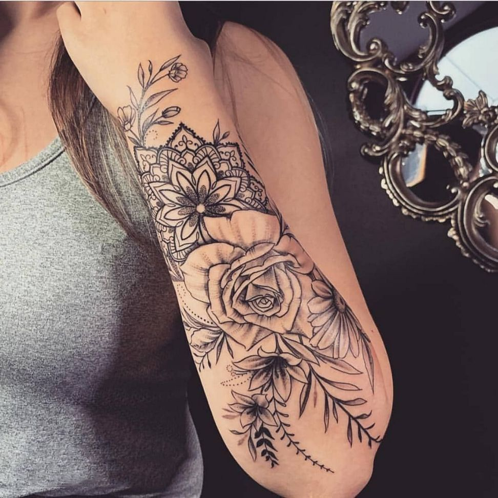 70 Awesome Sleeve Tattoos For You In 2020 There S Less Hesitation Since A Lot Of Workp In 2020 Floral Tattoo Sleeve Sleeve Tattoos For Women Flower Tattoo Sleeve