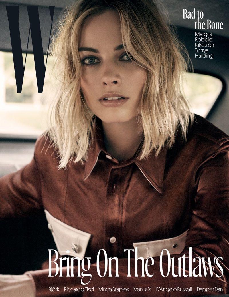 Margot Robbie Poses In Cool Styles For W Magazine S Izobrazheniyami Margo Robbi Harli Kvinn Krasotki