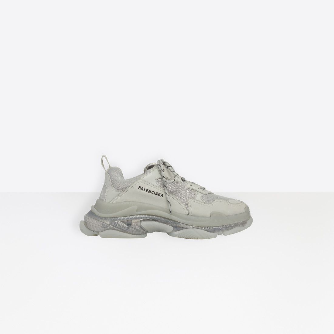 862162d59 Balenciaga Oversized multimaterial sneakers with air bubble inside ...