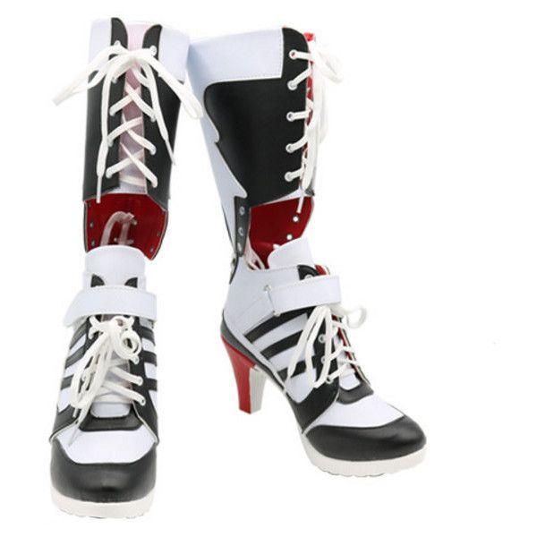 e836086901ce28 Handmade Cosplay Shoes Harley Quinn Classic Shoes Handmade Cosplay... ( 85)  ❤