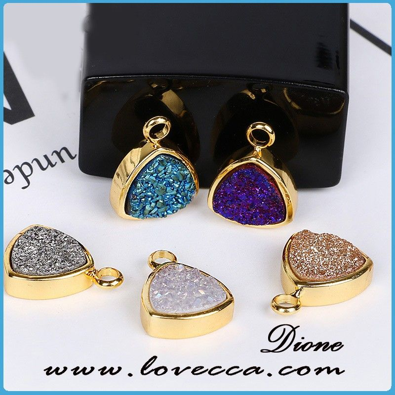 Wedding Party Agate Druzy Necklace Handmade Drusy Geode Necklace, View Drusy Geode Necklace, Dione Product Details from Guangzhou Dione Crafts Co., Ltd. on Alibaba.com