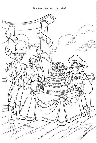 ariel coloring pages wedding flowers | Wedding Wishes 46 by Disneysexual, via Flickr ariel prince ...