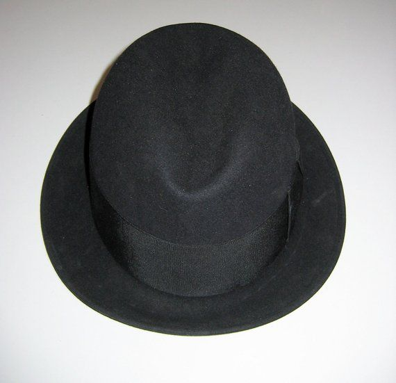 c4ed277e397 Vintage Fedora hat. The Stetsonian by Stetson