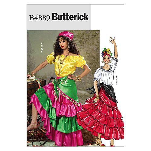 Mccall Pattern B4889 Z (Lrg-Xlg-Butterick Patternnull  sc 1 st  Pinterest & Mccall Pattern B4889 Z (Lrg-Xlg-Butterick Patternnull | Costumes ...