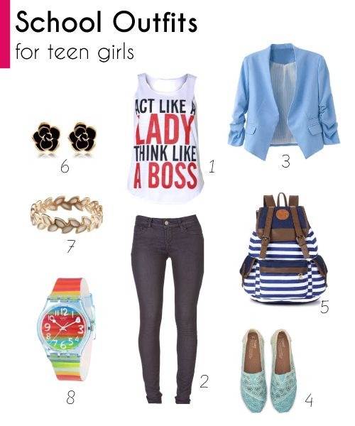 4f9535702 2018 Teen Fashion  Cool Outfits for School