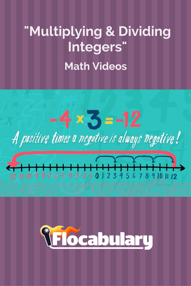 This video teaches students to multiply and divide positive and ...