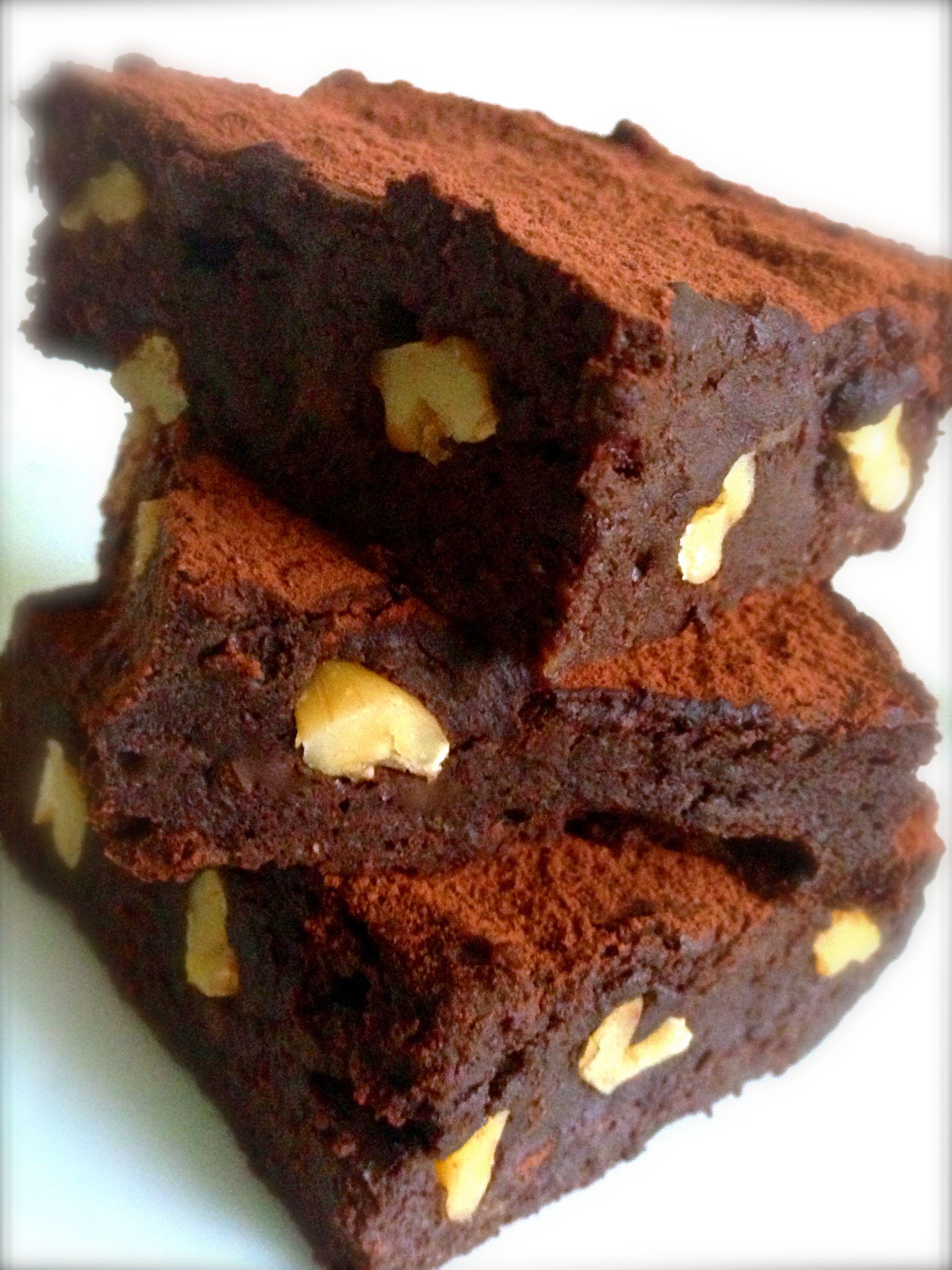 Brownie Com Biomassa De Banana Verde Receitas Receitas Com