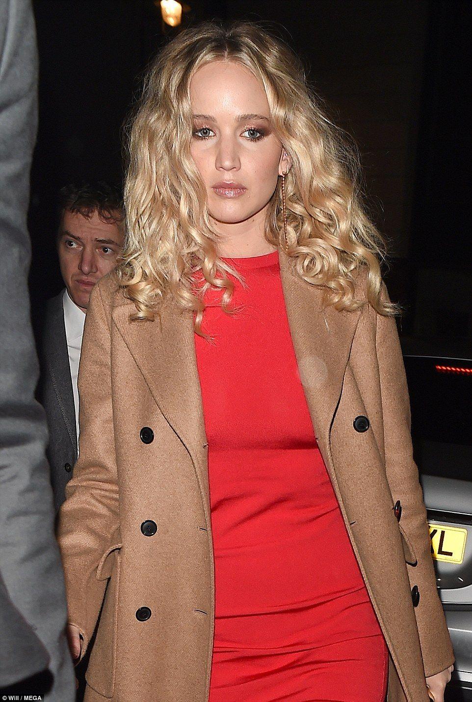 Lace up wedding dress november 2018 Jennifer Lawrence attends Red Sparrow premiere in London  Jennifer