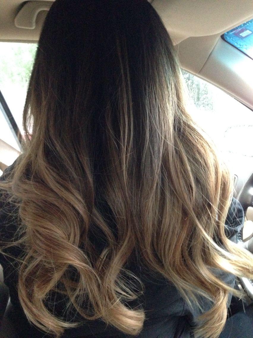 Ombre Balayage Ash Blonde On Asian Hair Asian Hair Balayage