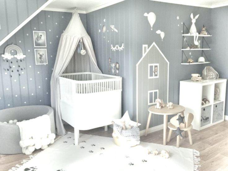 Inspiration von Instagram grauweißes Kinderzimmer im