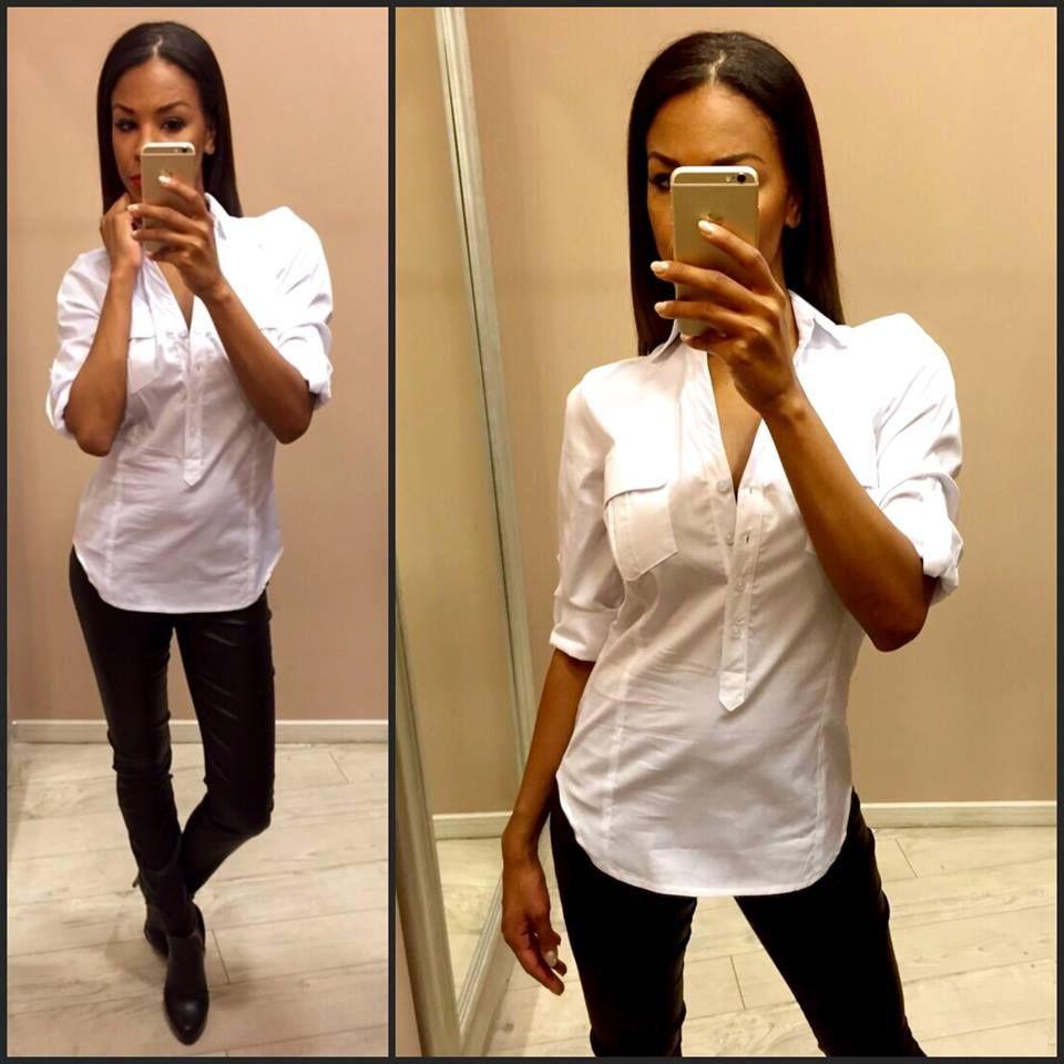 6be0d5c922 Kötelező darab, ez a fehér ing az Envy-től, egy nő ruhatárából sem  hiányozhat!