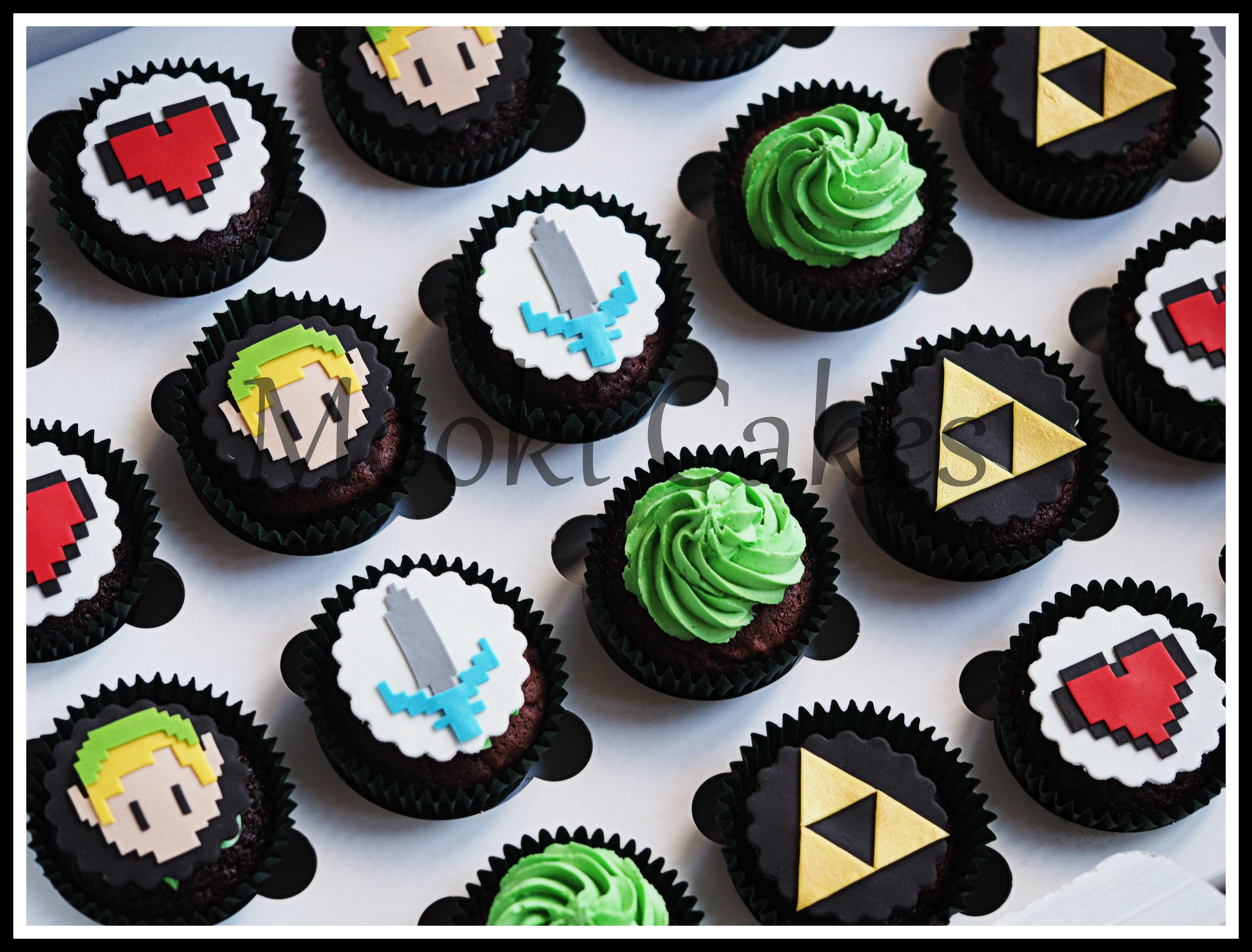 Zelda Cupcakes Cakes Cakes And Cakes Pinterest Birthdays