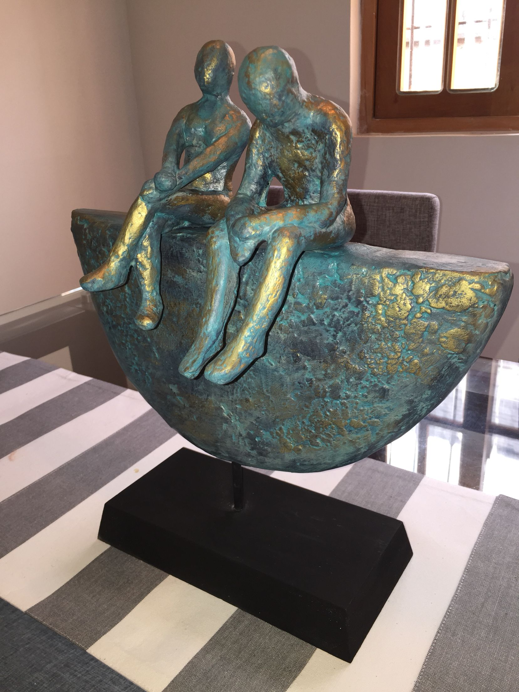 Patina En Zina Powertex In 2019 Pinterest Sculpture Decoupage