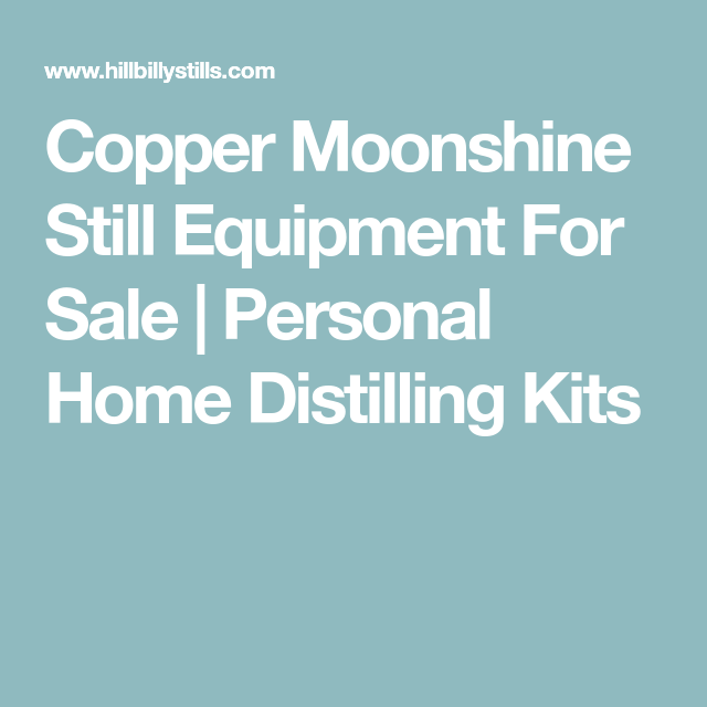 Copper Moonshine Still Equipment For Sale   Personal Home ...