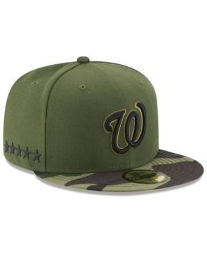 quality design 6fee5 cdbb8 New Era Boys  Washington Nationals Memorial Day 59FIFTY Cap - Green 6