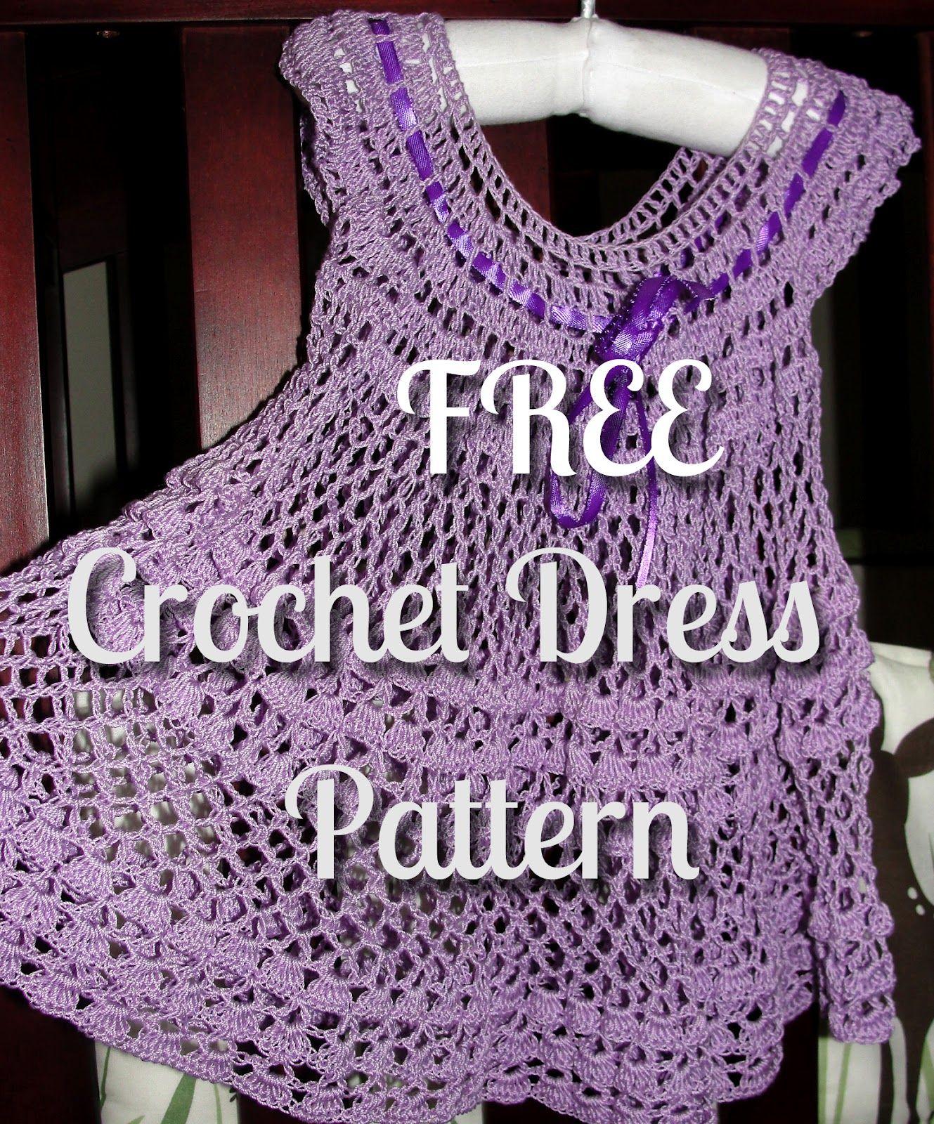 Crochet summer baby dress crochet summer summer baby and crochet crochet pattern free bankloansurffo Gallery