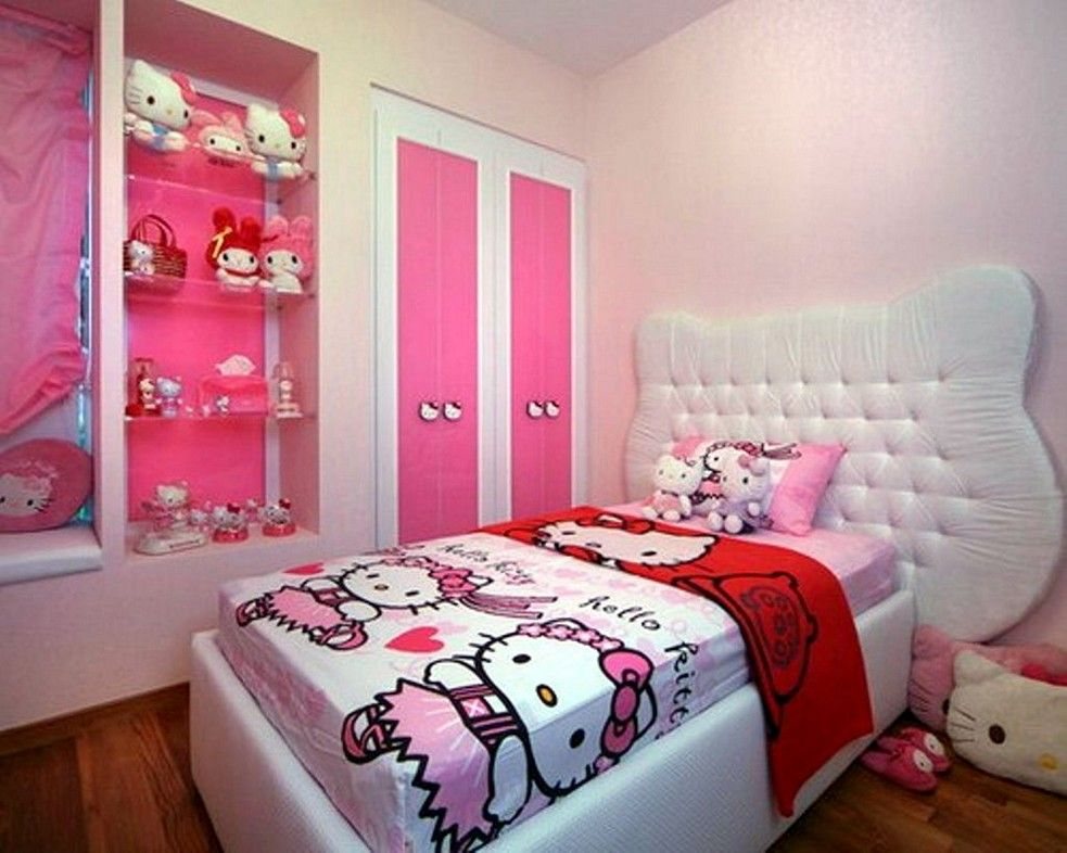Bed Designs For Small Bedroom Classy Perfect Decor For Girls Especially Hello Kitty Fan Hello Kitty Review