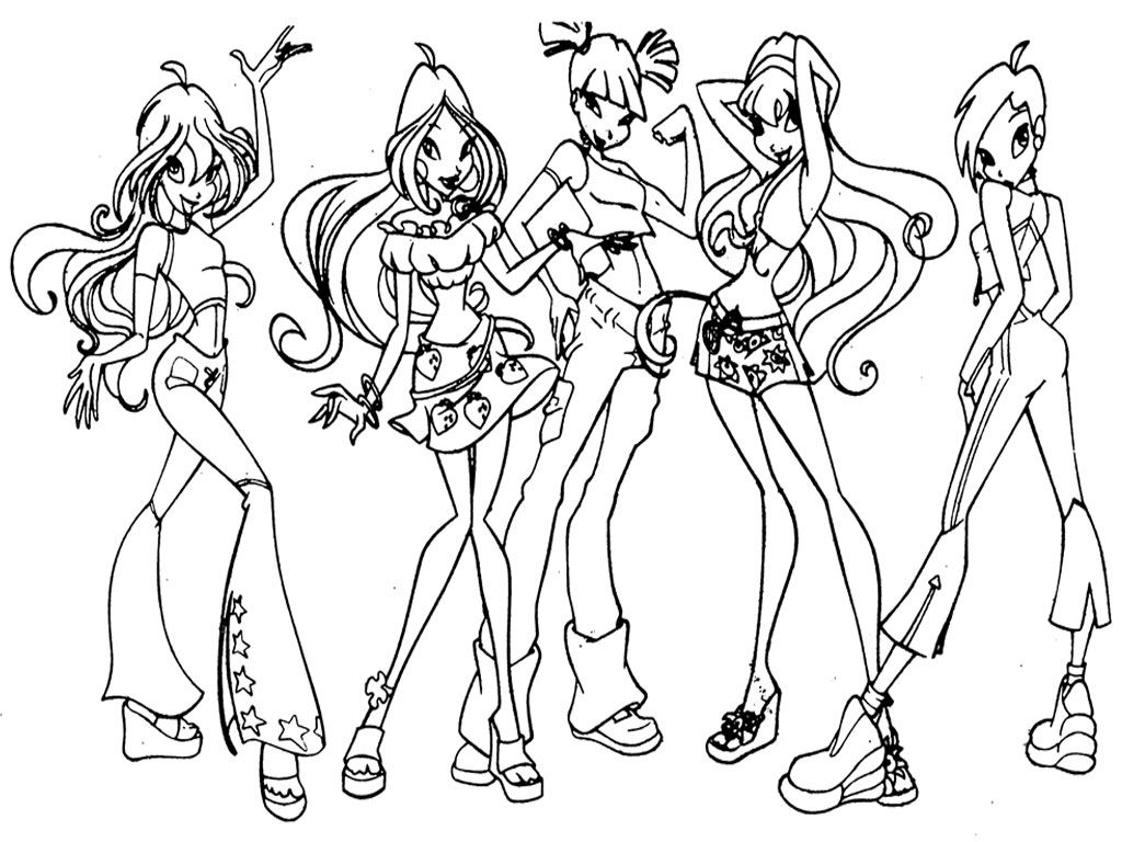 Print out coloring pages for girls - Nice Coloring Pages To Print For Girls Free Download