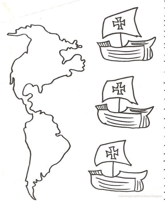 Descubrimiento De America Archives El Rincon Didactico Carabelas De Cristobal Colon Cristobal Colon Para Ninos Las Carabelas De Colon