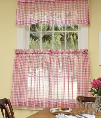 Kitchen curtain idea from Country Curtains - \
