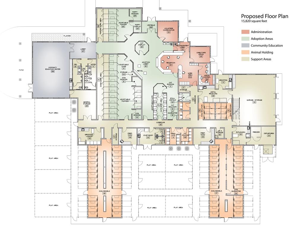 Color Plans Pocatella Shelter