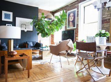 Industrial Living Room by Elaine Musiwa