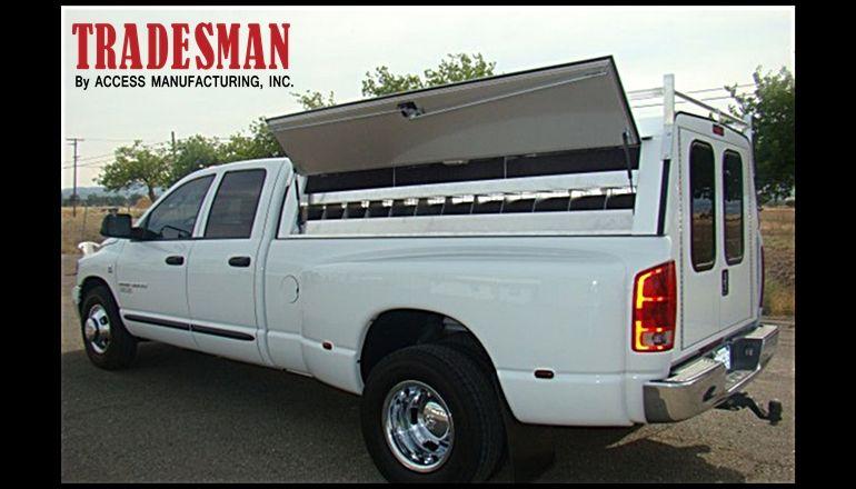 Dodge Cab Hi Upgrade Tool Box W Carpet 640x422 Camper Shells Cab Tradesman
