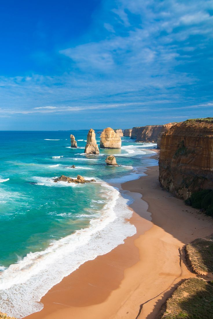 The Spectacular Scenery of The Great Ocean Road Australia