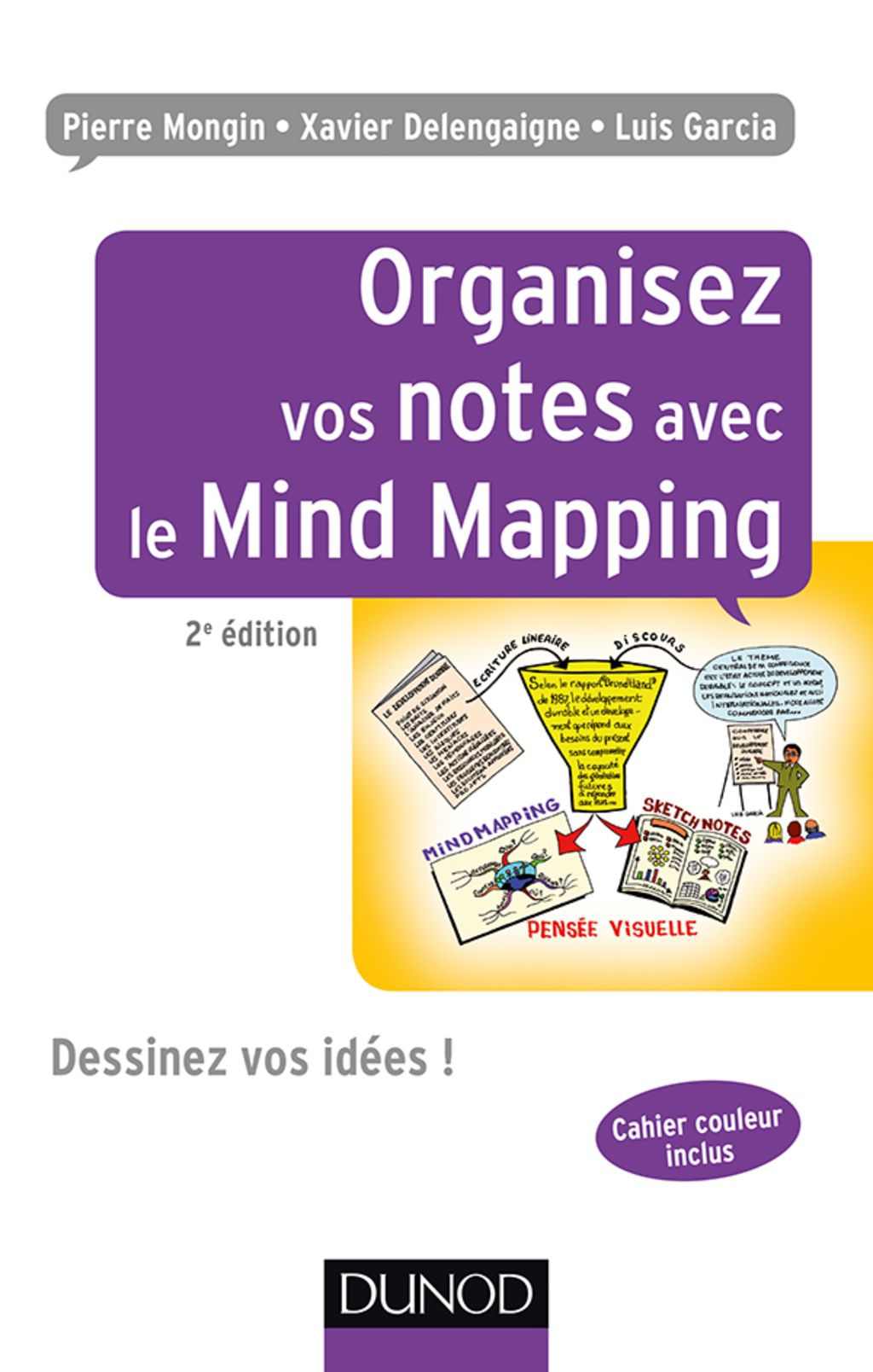 Organisez vos notes avec le Mind Mapping 2e éd. (eBook