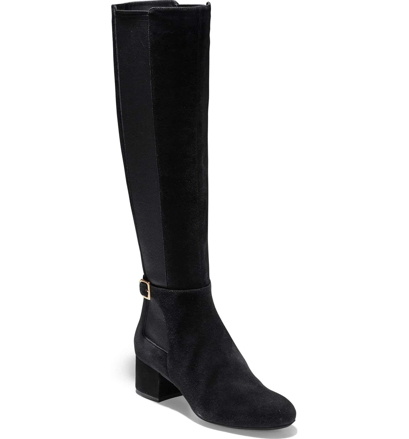 80deee784 Free shipping and returns on Sam Edelman Valda Knee High Boot (Women) at  Nordstrom.com. A stretch panel perfects the fit of a knee-high…