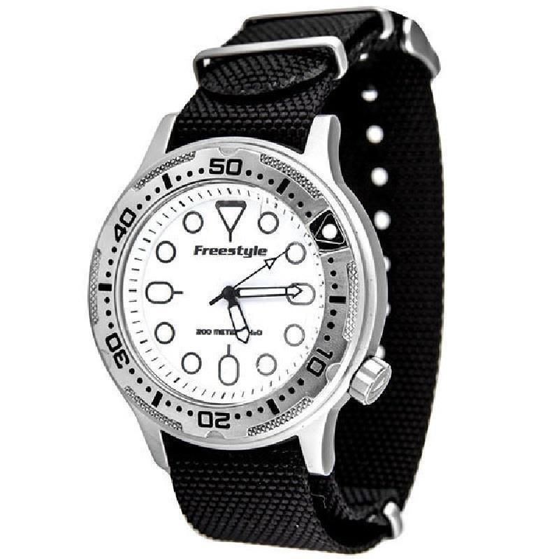 117842bf79b Freestyle Watch Ballistic Diver 10017242 Men s   Women s Sport Black    White  Freestyle  Sport