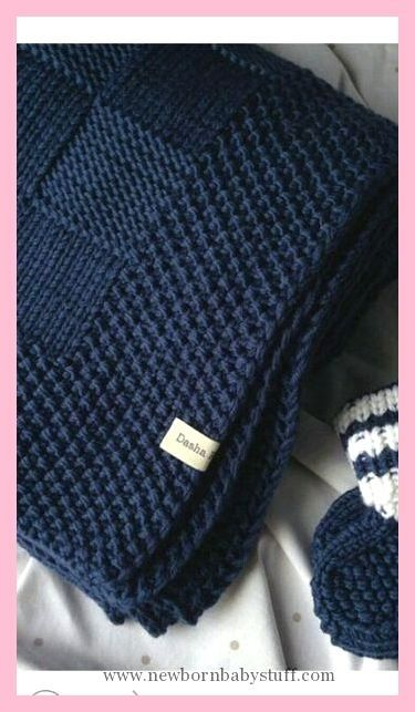 Baby Strickmuster Ich liebe die Bordüre auf dieser Decke! ..., # Strickmuster # Decke