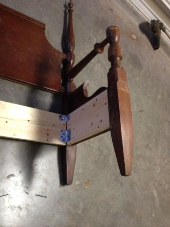 How to Make a Bench From an Old Headboard/footboard | Receta ...