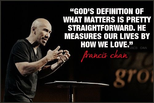 By Francis Chan.