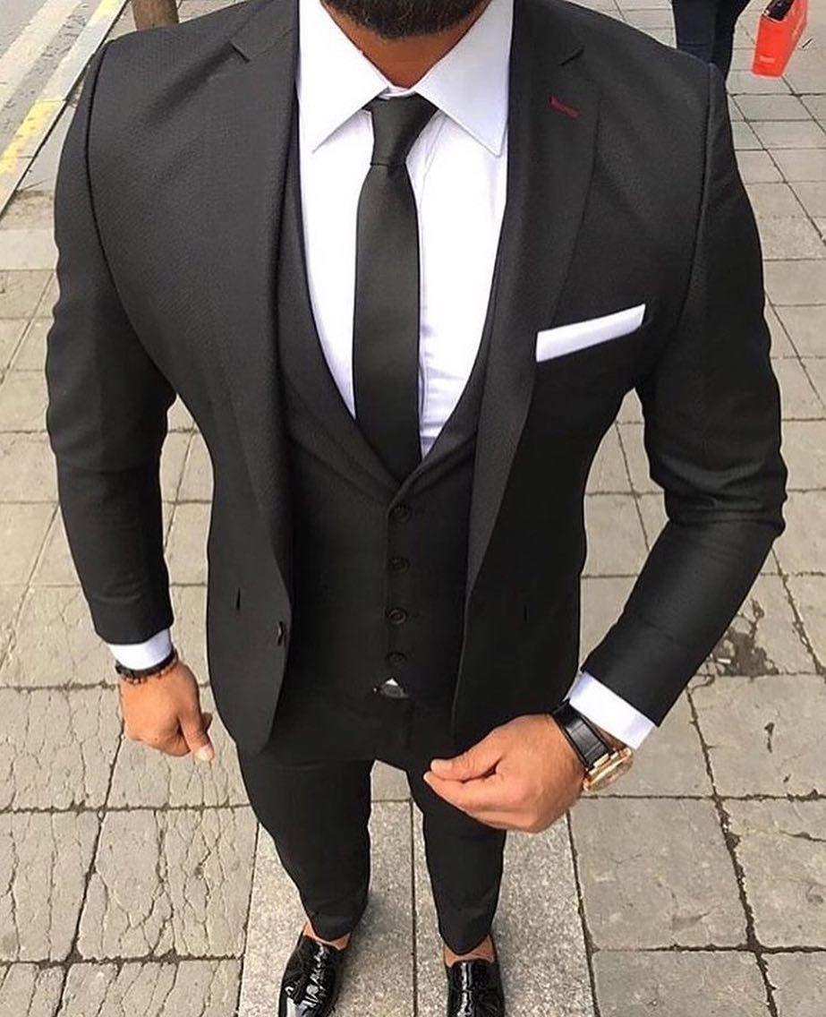 Suited Up. #AlexanderCaine (With images) | Wedding suits men, Suit fashion,  Black suit men