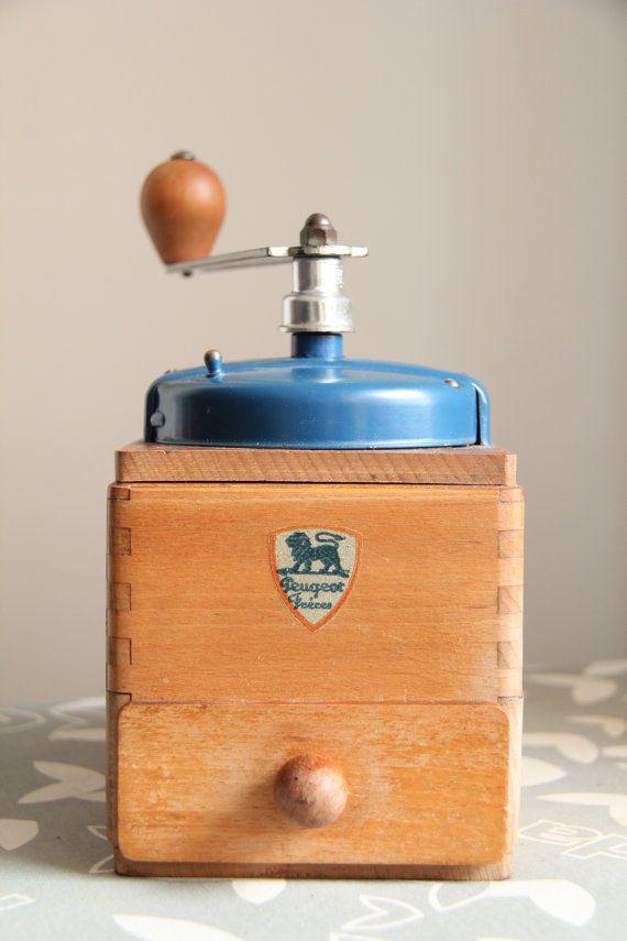 Peugeot Antique Coffee Grinder Mill 1948 EX Model