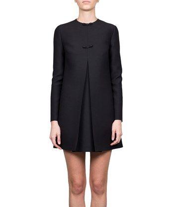 VALENTINO Crepe Couture Dress. #valentino #cloth #dress