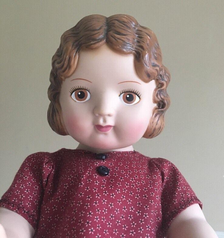 "Vintage Daisy Kingdom Doll 1991 Brunette Hair Brown Eyes 17"" Tall"