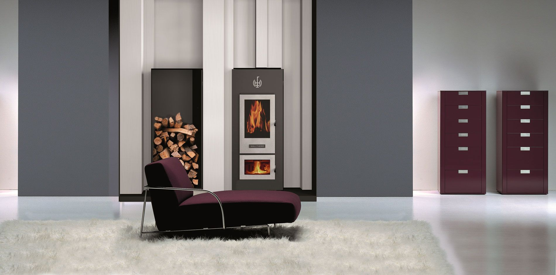 WALLTHERM THE WOODSTOVE CANADA great integrated heating