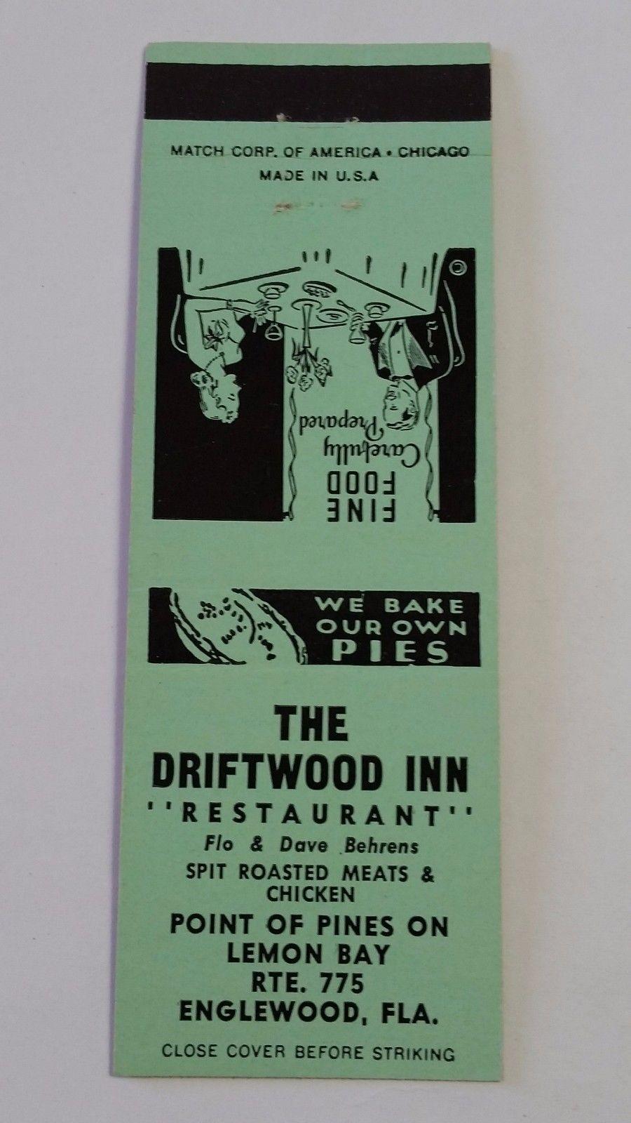 1366. DRIFTWOOD INN, ENGLEWOOD FL   Driftwood inn ...